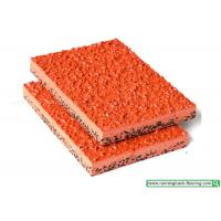 Buy cheap SSGsportsurface Elastic Anti-slip Rubber Running Track for Playground from wholesalers