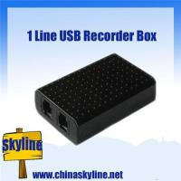 Buy cheap Cheap price and good quality! 1 line usb phone recorder box/phone call recorder from wholesalers