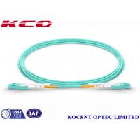 Buy cheap MM OM4 100G 10 Meter Fiber Optic Cable LC Switchable Uniboot 2 Cores from wholesalers
