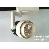 30W Adjustable Angle low voltage commercial track lighting For Shop Manufactures