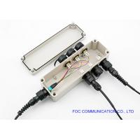 Buy cheap Outdoor IP67 Waterproof Mini LC/ODVA MPO/Optitap Connector Box from wholesalers