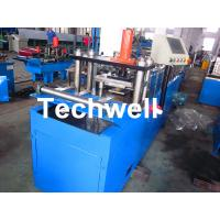 Light Weight Angle Steel Roll Forming Machine With Continuous Punching System Manufactures