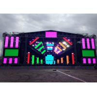 Buy cheap Full Color big Outdoor Rental Led Screen Displays 1/13 Scan High Rate Refresh from wholesalers