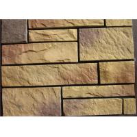 Light Texture Colorful Faux Artificial Wall Stone With Rich Original Flavor Manufactures
