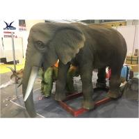 Buy cheap Playground Zoo Decoration Lifelike Animatronic Animal Models Elephant Statues from wholesalers