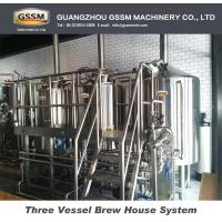 30 BBL Stainless Steel Craft Beer Brewing Equipment Steam Heated Equipment Manufactures