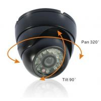 Buy cheap 1/4inch 420TVL Sharp CCD Outdoor Security Dome CCTV Camera from wholesalers