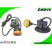 Buy cheap Helmet Lamp LED Mining Light 6.6Ah Li - Ion Battery With 1000 Battery Cycles from wholesalers