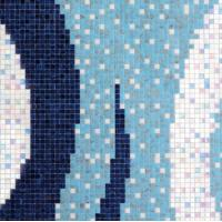 Buy cheap Mosaic Tile Widely Use in Swimming Poor Project/Item Rolling Thunder from wholesalers