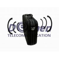 Buy cheap Small RF Power Mobile Phone Jamming Device , Cellular Signal Blocker Black Color from wholesalers