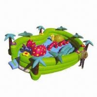 Buy cheap Toddlers Inflatable Bouncer, Suitable for Gardens, Malls and Supermarket, Available in Various Color from wholesalers