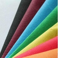 Wholesale White blue black PP Spunbond Nonwoven Fabric for face mask 3ply disposable face mask N95 KF80 KF94 from china suppliers