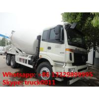 Buy cheap Foton new price 12cbm concrete truck for sale, FOTON AUMAN 6*4 12cubic meters mixer drum mounted on truck for sale from wholesalers