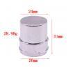 Buy cheap Zinc Alloy Zamac Perfume Cap / Perfume Cover Color Customized from wholesalers
