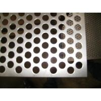 Buy cheap Stainless Steel Perforated Metal Sheet/Galvanized Steel / Aluminum / , Hole Dia 0.84mm from wholesalers