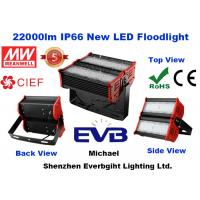 22000lm 200W Outdoor LED Flood Lights IP66 With Meanwell Driver , 5 Year Warranty Manufactures