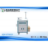 Buy cheap Multifunction Emergency Drug Trolley With IV Pole 2 Door , Luxurious Noiseless Casters from wholesalers