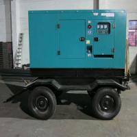 Buy cheap 6  Cylinders Mobile Diesel Generator Water Cooling Low Fuel Consumption from wholesalers