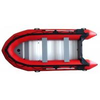 Buy cheap 0.9mm Korea PVC inflatable boat with aluminum floor (length:3.8m) from wholesalers