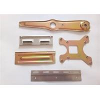 Buy cheap Assorted Color Sheet Metal Stamping Parts Bronze Material For Medical Equipment from wholesalers