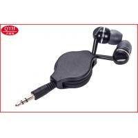 Buy cheap Custom 0.8m earphone Retractable Earbuds Two Way Earplug Reel from wholesalers