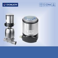 Pneumatic diaphragm valve  with one solenoid valve and two sensor Manufactures