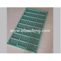 Buy cheap Customized Size Pig Farm Equipment Colorful Green Slatted Floor For Poultry from wholesalers