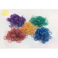 Buy cheap Purple DIY Metallic Rainbow Loom Rubber Band for bracelet , necklace from wholesalers