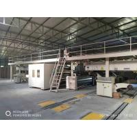 Buy cheap WJ120-1800-5 layers Corrugated Cardboard Production Line/Economic price from wholesalers