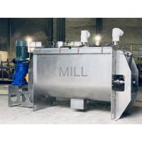 Buy cheap Horizontal Ribbon Mixer Machine Commercial Stainless Steel Animal Feed from wholesalers