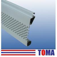 Buy cheap Commercial Roller Door / 77mm Aluminium Single Layer Slat product