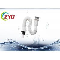 Buy cheap PVC Basin Flexible Sewer PipeFor Bathromm , Kitchen Sink Flexible Drain Pipe from wholesalers