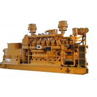 Buy cheap Low Fuel Consumption Gas Engine 400kw Natural Gas Generator product