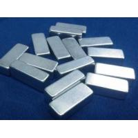 China N35 / N52 Rare Earth Large Neodymium Magnets With NiCuNi Coating on sale