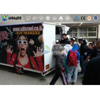 Buy cheap 9 Motion Seats Mobile Trailer 5D Movie Theater , Truck Mobile 5D Cinema from wholesalers