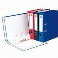Buy cheap International Standard Lever Arch File, PVC Outer Cover with Inner Blank Paper from wholesalers