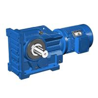 Buy cheap 5.5kW S77/S87/S97 Ratio 32.38/57.00/89.60 speed reducer gearbox solar tracker gear motor from wholesalers