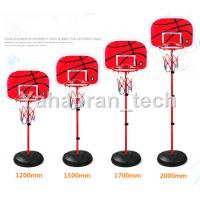 Buy cheap made in china easy to carry kids play 4ft 5ft height sport basketball hoop stand with ball from wholesalers