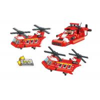 Buy cheap 3 In 1 Transformer Fire Engine Building Blocks For Toddlers And Preschoolers from wholesalers