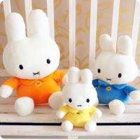 China Stuffed toys Miffy white rabbit plush toy factory specializing in the production of animat on sale