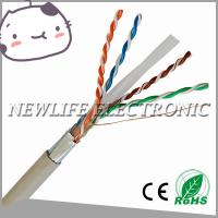 High Quality 24AWG FTP CAT6 Copper Cable Past Fuke Test Manufactures