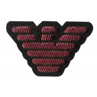Buy cheap Burgundy Bird Embroidered Uniform Patches Clothes Machine Embroidery Badges from wholesalers