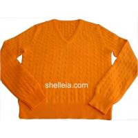 Buy cheap Mens Cashmere Sweater, Mens Cables Cardigan, Man's Cashmere Pullover from wholesalers
