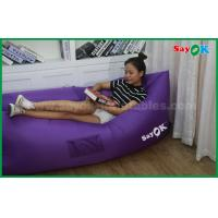 Logo Printed SayOK Inflatable Air Sofa Sleeping Couch Can Choose Color Manufactures
