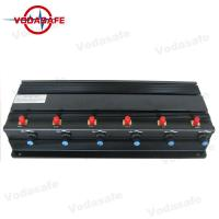 Power Adjustable Mobile Phone Signal Jammer 6 RF Customized Frequency Safe Operation
