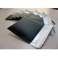 Buy cheap PET Black Bubble Lined Envelopes , 6x10 Bubble Mailers Size 0 Impact Strength from wholesalers