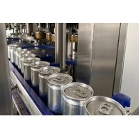 Buy cheap Fully Automatic Beer  Soda Canning PLC Monoblock Beverage Filling Machine from wholesalers