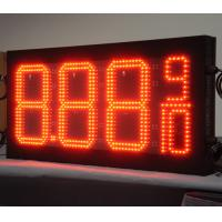 China Wholesale Waterproof 10inch 8.889/10 Display Format LED Gas Price Signs,LED Gas Bill Board on sale