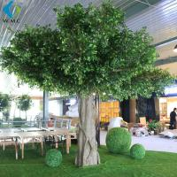 Wholesale Faux Green Indoor Banyan Tree 6m Height Customized Design Long Use Life from china suppliers