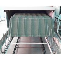 Buy cheap Water Proof Stone Coated Roof Tile Machine / Equipment With Pressing System from wholesalers